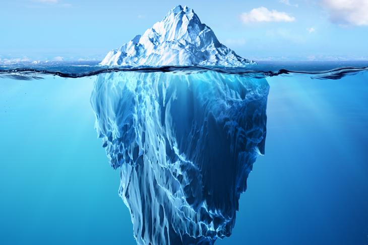 Dislessia iceberg
