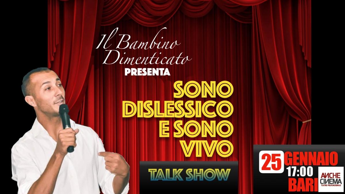 Bari: AncheCinema ospita il primo Talk Show sullaDislessia
